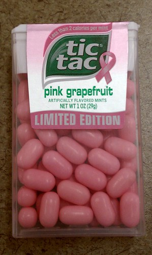 tic tac pink grapefruit - limited edition