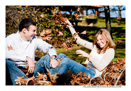 lars-anderson-brookline-ma-fall-engagement-photos- fiances enjoy the leaves of autumn