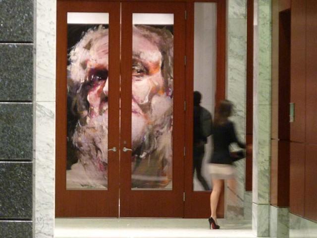 P1050249-2010-11-19-Bill-Lowe-Gallery-Dewberry-Lobby-Blurry-Girl