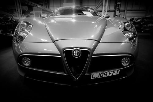 Alfa Romeo 8c Competizione Coupe. 2010-11-12_Top_Gear_Live_2010_Birmingham_12330 middot; Alfa