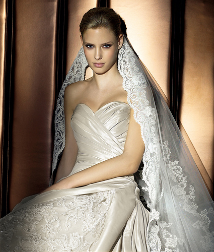 Beautiful Wedding Gown,