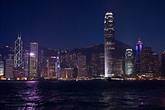 Hong Kong's Skyline (D200-PAUL) Tags: skyline hongkong kowloon victoriaharbour victoriaharbor aboveandbeyondlevel4 aboveandbeyondlevel1 aboveandbeyondlevel2 aboveandbeyondlevel3