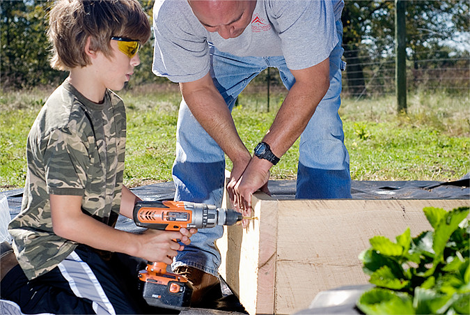 making raised beds 4