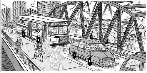 Bike count 2009