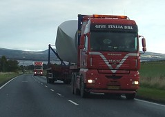 Give Italia MAN TGA with Blade on the A9. (Jack,Shepherd) Tags: man highlands tga a9 heavyhaulers