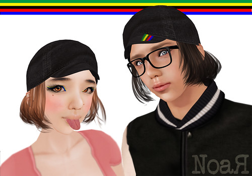 NoaR Cyclecap hair