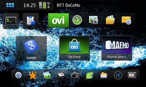 Homescreen Dockbar