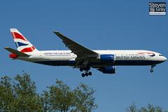 G-YMMT - 36518 - British Airways - Boeing 777-236ER - Heathrow - 100617 - Steven Gray - IMG_4394