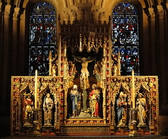 Christ Church Cathedral, Oxford (Sheepdog Rex) Tags: reredos
