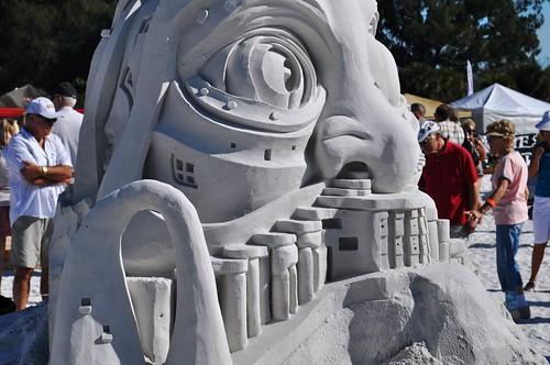 Siesta Key Crystal Classic Master Sandsculpting Competition, Nov. 20, 2010: by Matt Long & Kirk Rademaker