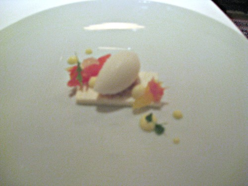 Manresa - Los Gatos, CA - November 20, 2010 - Frozen Cream Cheese, Citrus and Lime Curd