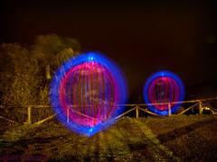 LP Cangas (Athalfred DKL) Tags: light lightpainting luz night painting children de long exposure nocturnal lp nocturna cod con pintar darklight larga exposicin cangas ons lightgraff
