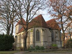 Alte Kirche (Toonworkshop) Tags: kirche reken