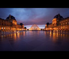 the louvre (millan p. rible) Tags: paris france rain canon thelouvre museedulouvre canonef1635mmf28liiusm canoneos5dmarkii 5d2