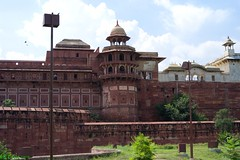 Agra Fort, #3 (Roy Prasad) Tags: california leica travel vacation usa holiday architecture fort fatehpursikri tajmahal agra f25 akbar s2 shahjahan 70mm moghul royprasad summarits