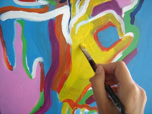 I´m painting again