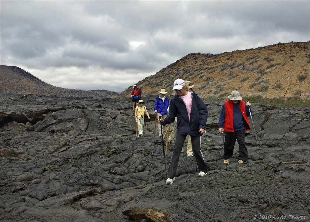 walk on lava