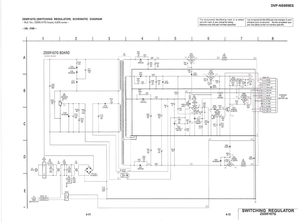need help identifying zener diode in sony ns999es dvd 7805 Voltage Regulator Circuit