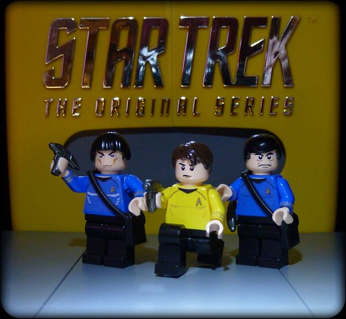 James T Kirk and friends