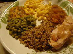 Thanksgiving dinner 2010