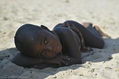 Breaking Boundaries - Skeleton Coast, Namibia (cedric_g) Tags: africa portrait girl nikon tribe gaze namibia himba nikond3 cedricguilleminot