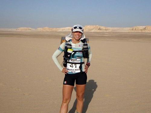 Nahila Hernandez Sahara Race