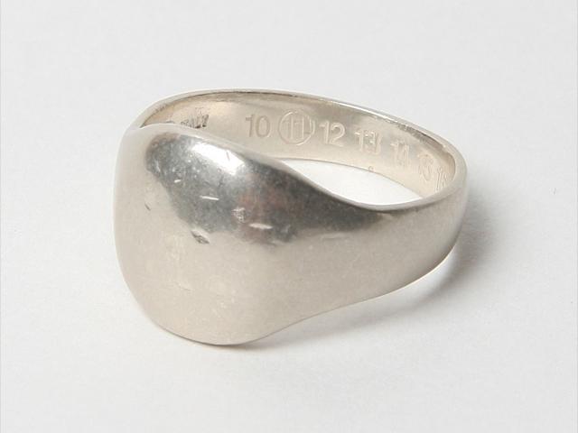 Martin Margiela silver ring 01a