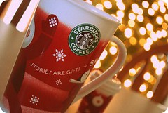 redcups = the holidays (krista_k33) Tags: coffee mugs holidays ornament starbucks redcups christmastreelights