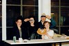 Heather McKenzie, Cath McNally, Hugh Devlin and Laura Graham 1990s