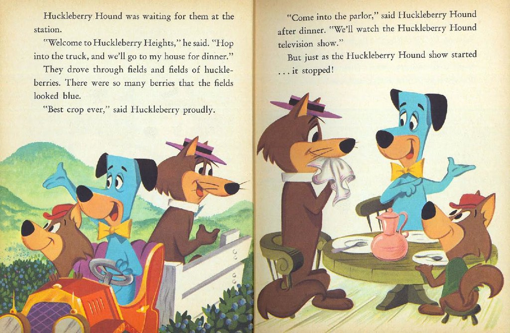 Hokey Wolf & Ding-a-Ling Featuring Huckleberry Hound005