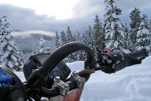 Canadian Snowmobile - Callaghan Valley