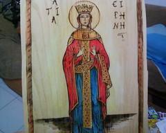 Αγ.Ειρήνη - πυρογραφια (AEGEOTISSA) Tags: wood art pyrography ξύλο πυρογραφια httpstephanieareliblogspotcom