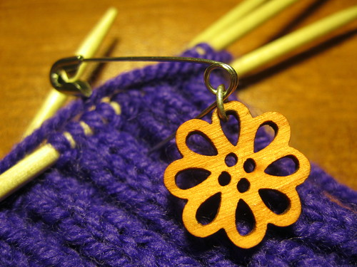 Cool stitch marker