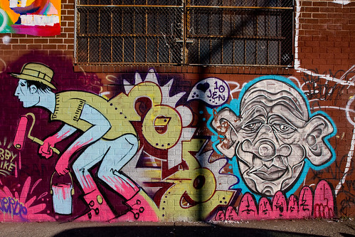 Burning Candy, Tek33, Dscreet, Bushwick