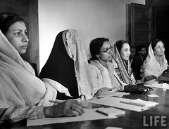 Educational Conference  1947 (Tahir Iqbal (Over 44,25,000 Visits, Thank You)) Tags: pakistan hijab niqab