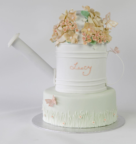 Lucy's Watering Can Cake