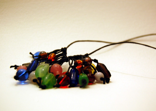 Fringe Bead Necklace