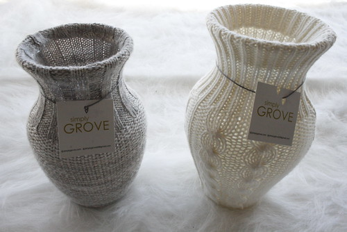 Sweater Vases at Brass Razoo...