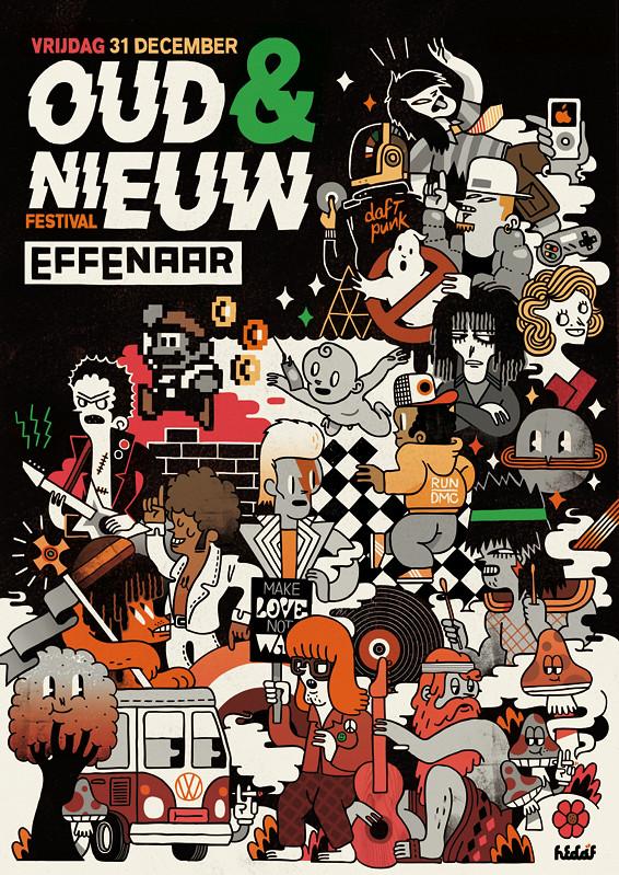 Effenaar 40 year anniversary poster
