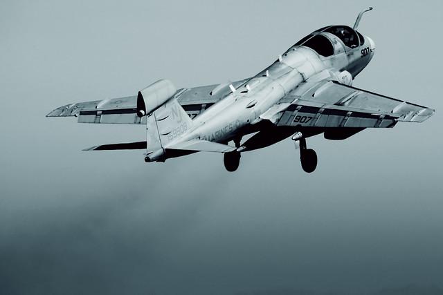 Northrop Grumman EA-6B Prowler Takeoff