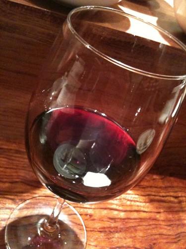 赤ワインなう。