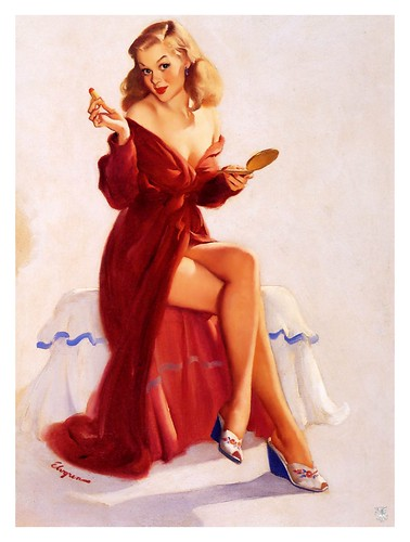 015-Gil Elvgren-sin fecha- via Imagenetion-Virtual Pin-ups Art Gallery