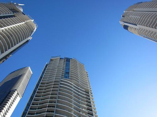 3 towers of the Chevron Rennaisance
