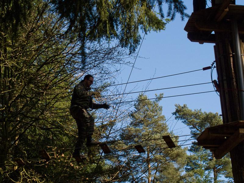 Go Ape! - balancing