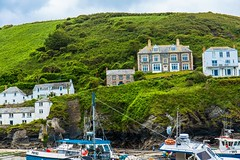 Doc Martins house and Surgery from the television serious (Geordie_Snapper) Tags: canon5d3 canon2470mm cornwall june overcast portisaacportwen summer