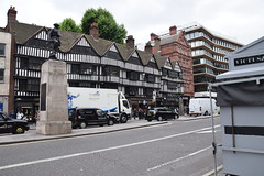 DSC_4452 City of London High Holborn The Royal Fusiliers War Memorial that was erected in 1922 Old Holborn Staple Inn dates from 1585 Tudor building (photographer695) Tags: city london holborn old staple inn dates from 1585 tudor building high the royal fusiliers war memorial that was erected 1922