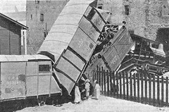 Egypt Railways - Suez, 1905 - Egyptian Railway Administration freight train crash (THE MIDDLE EAST, CENTRAL ASIA, AFRICA) Tags: egypt railways steam locomotive train crash suez 1905
