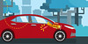 Toyota: O Tolerante - cena 04 (Works by Issao Bazolli) Tags: digital vetor vector toyota pinturaexpressa illustration ilustração art desenho characters