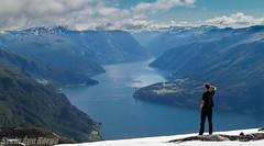 Mountain Oksen in Norway (Syriax) Tags: oksen mountainoksen hardanger tjoflothardanger hardangerbrua hardangerbridge norway norge mountains mountainsnorway mountainnorway visistnorway