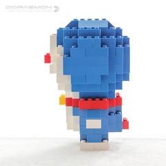 Doraemon (dvdliu) Tags: lego doraemon moc statue classic basic brick sculpture